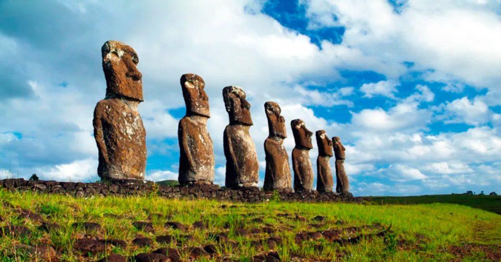 Que hacer en Isla de Pascua: Ahu Akivi