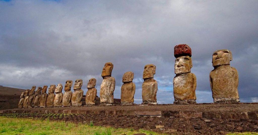Que hacer en Isla de Pascua:  Ahu Tongariki