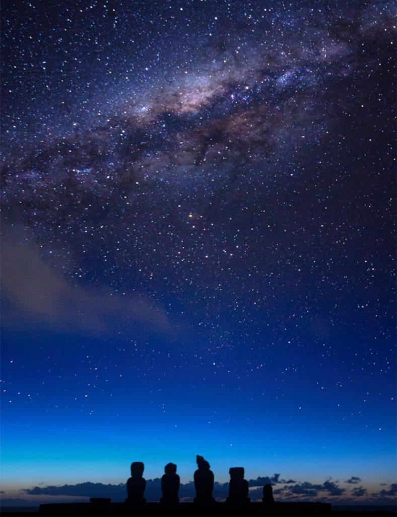 Que hacer en Isla de Pascua: admirar las estrellas