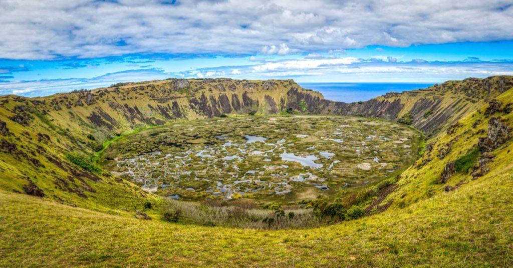 Que hacer en Isla de Pascua: Rano Kau
