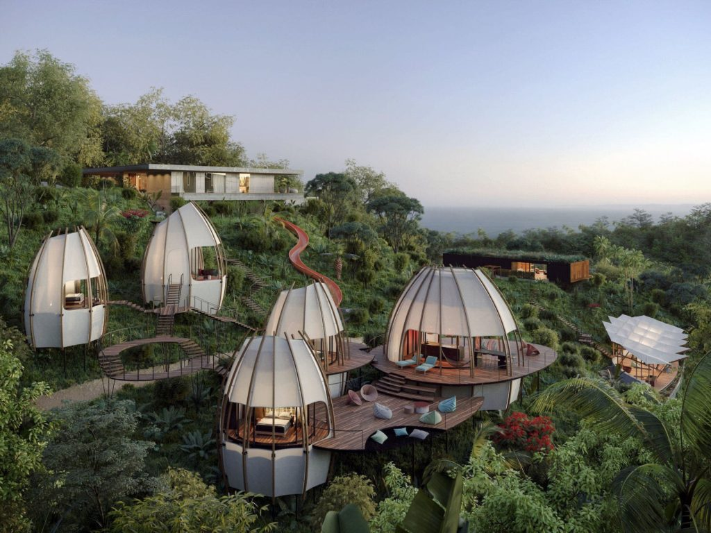 descanso en la selva de Costa Rica