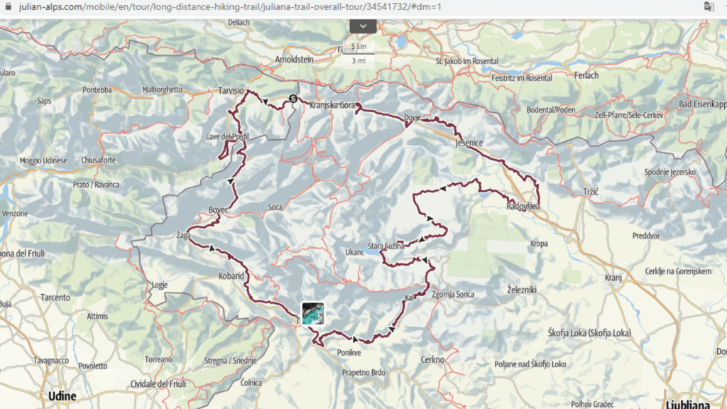 alpes julianos c%C3%B3mo es el nuevo sendero de los Alpes Julianos 1