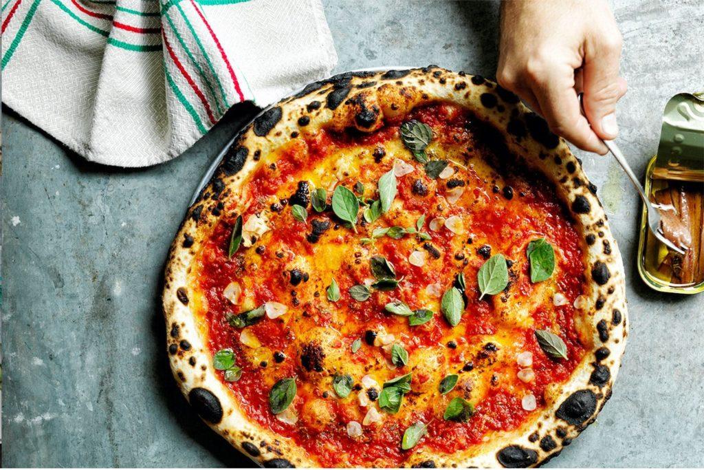 10 estilos de pizza: pizza marinara
