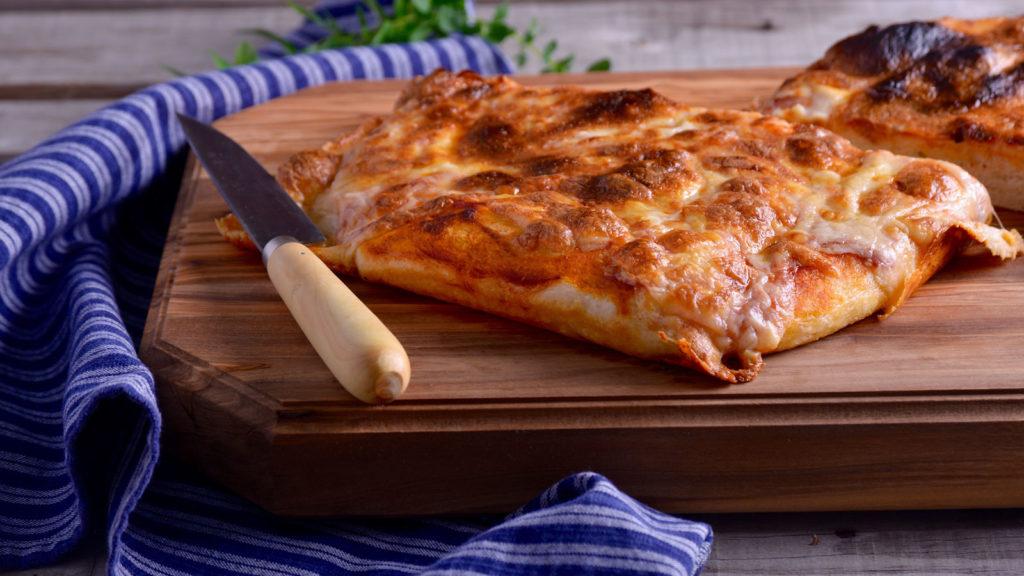 10 estilos de pizza: pizza al taglio