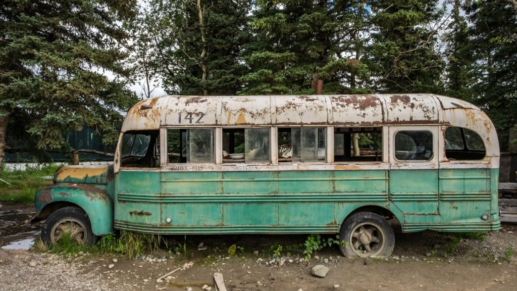 imagen into the wild into the wild bus real