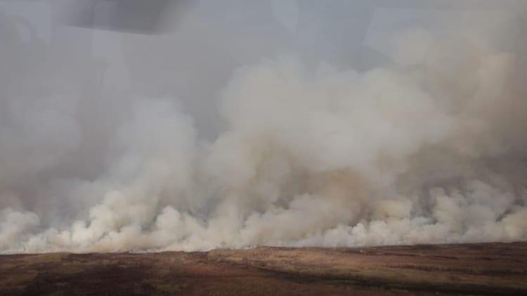 emergencia ambiental en el Delta del Paraná