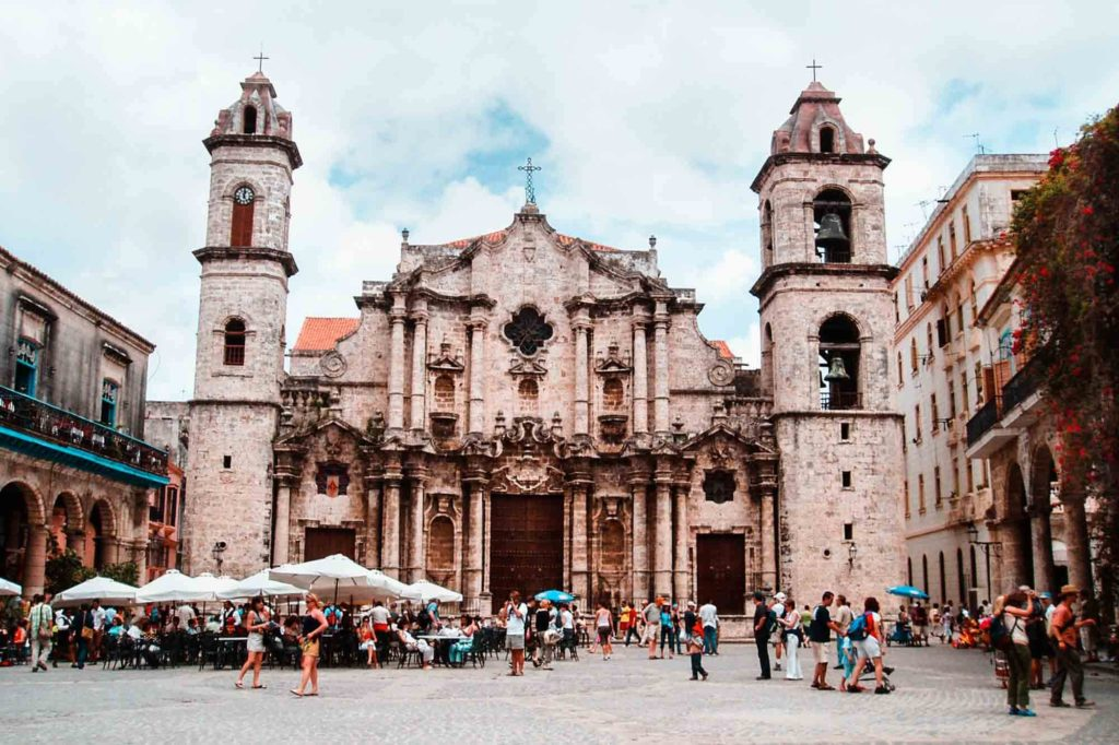 Catedral en la Vieja Habana