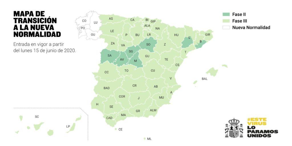 España: Galicia es la primera ciudad en estrenar la 'nueva normalidad'