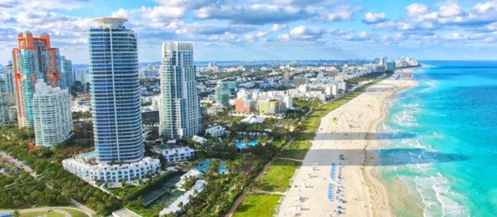 """Miami reabre sus playas y emprende la vuelta a la """"normalidad"""""""