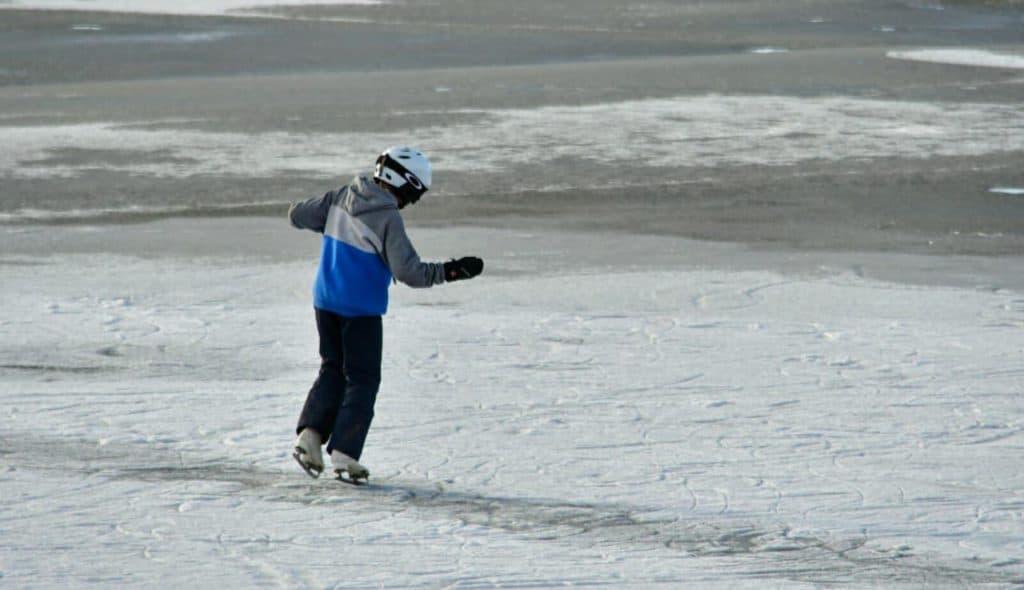 la pista de hielo más grande de Sudamérica