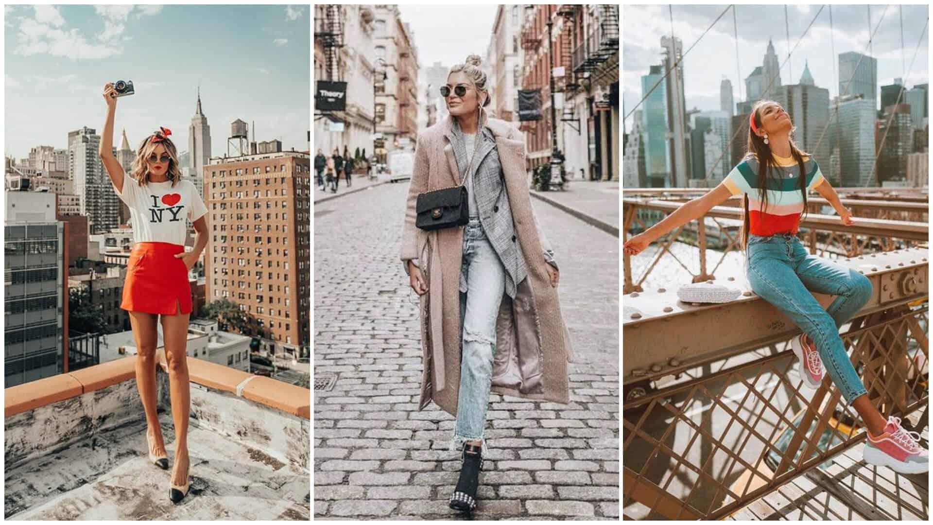 20 outfits ideales para viajar a Nueva York