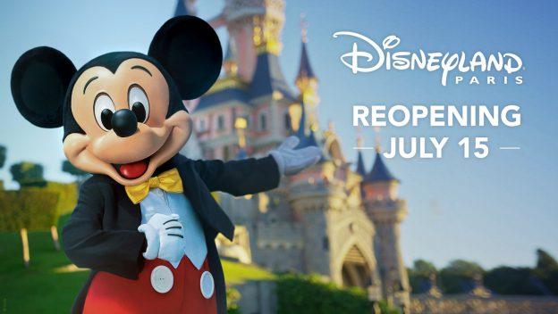 Disneyland París comenzará una reapertura gradual del complejo a partir del 15 de julio