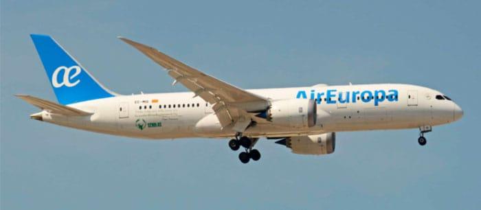 Air Europa anuncia sus vuelos de regreso a Latinoamérica