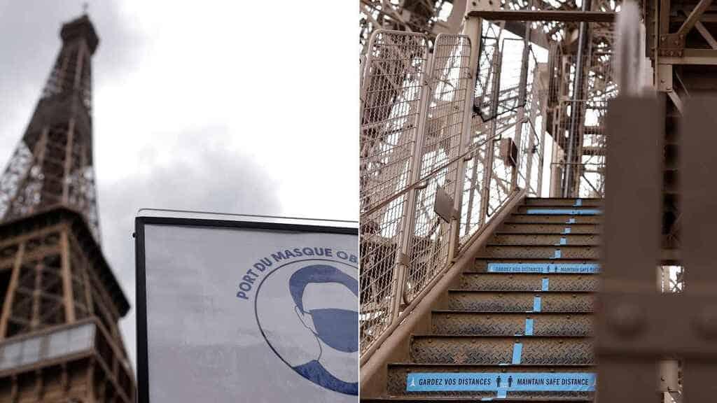 La Torre Eiffel reabre hoy sus puertas después de 104 días de cierre por el coronavirus