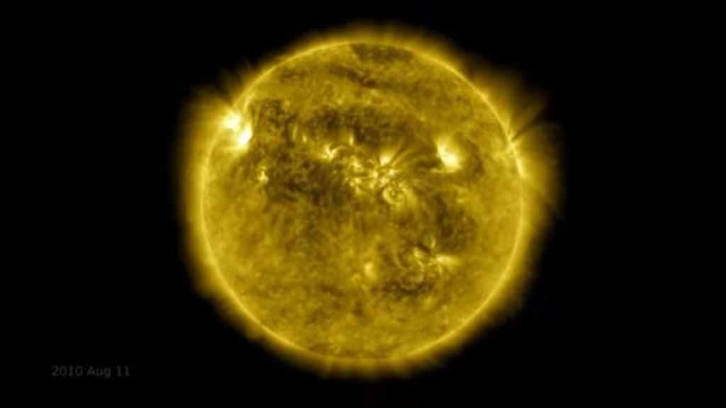 timelapse de los últimos 10 años del Sol