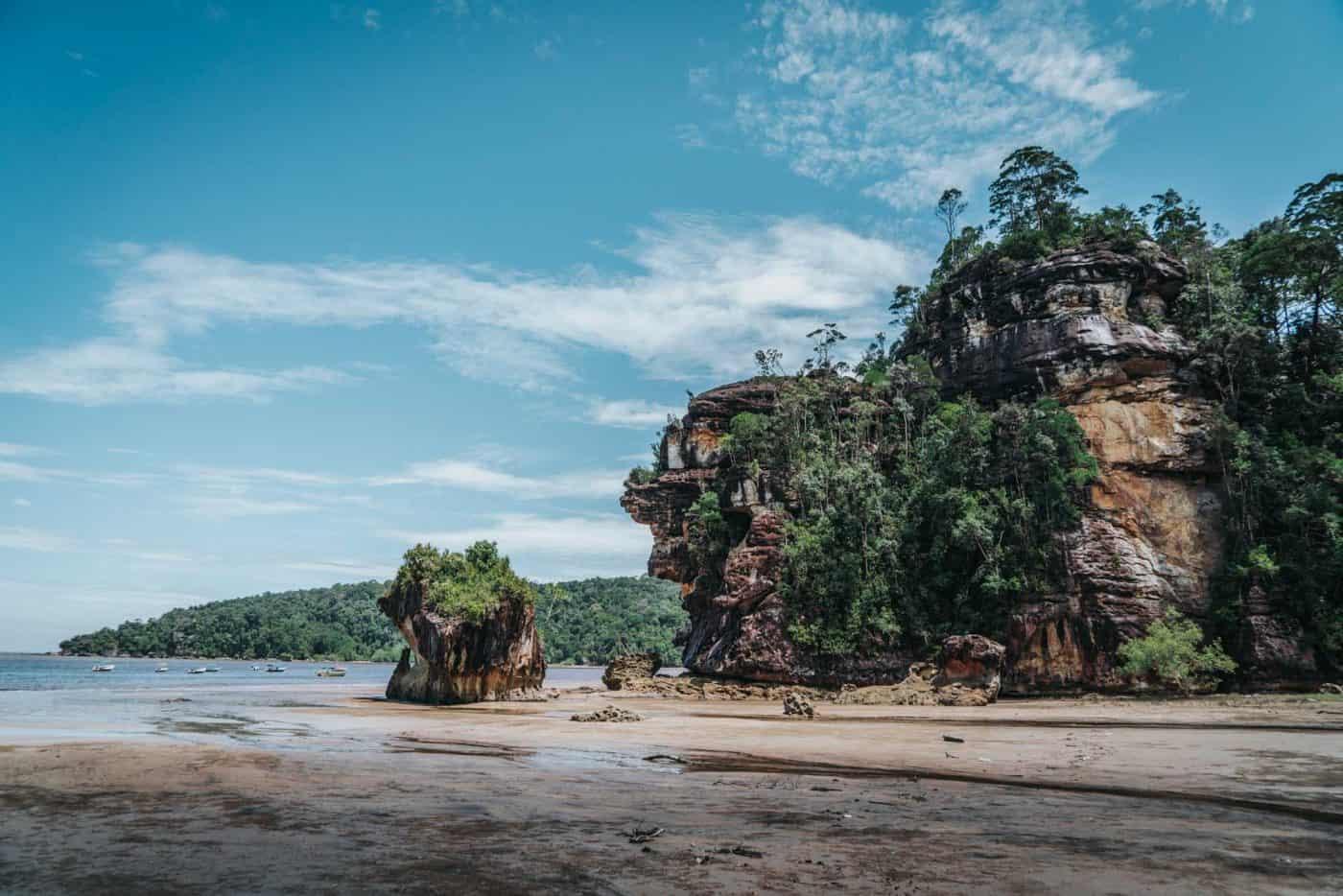 Recorre el Parque Nacional Bako selva tropical, manglares y mar en uno de los parques nacionales más lindos de Malasia 5
