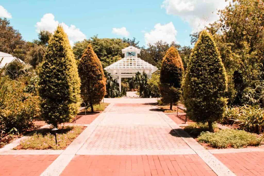 actividades geniales para hacer en Orlando harry p leu gardens