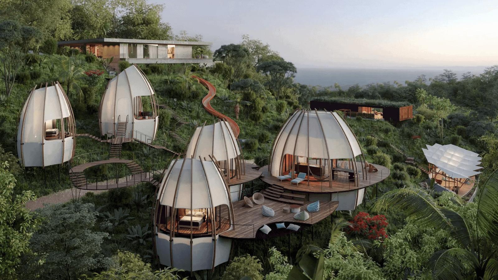Estos lujosos hospedajes cápsula son todo lo que necesitas para el mejor descanso en la selva de Costa Rica 1