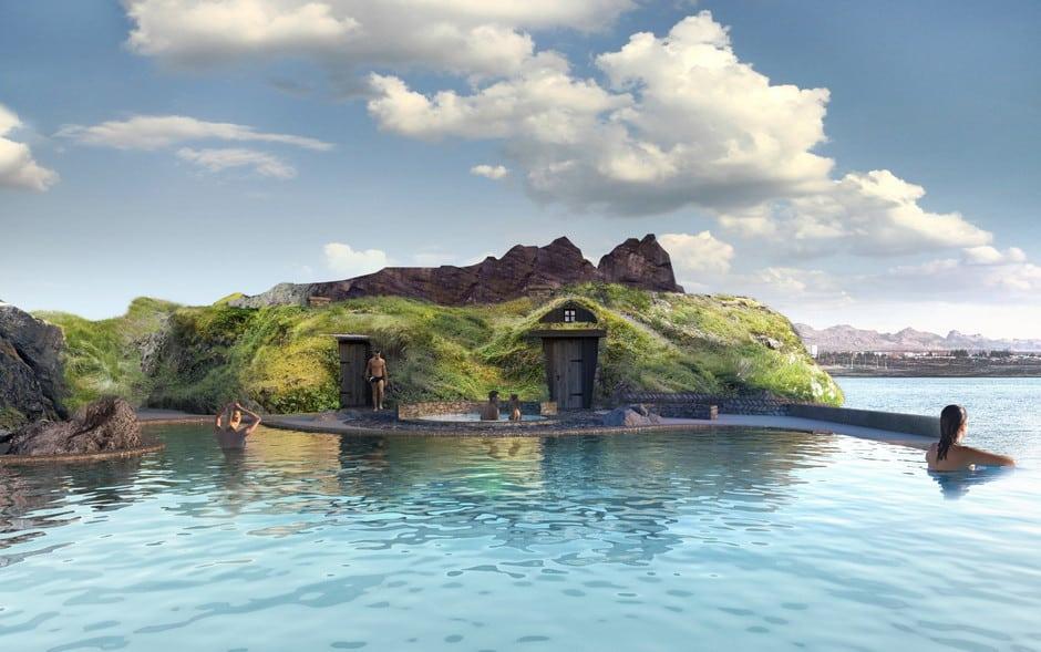 En Islandia trabajan en la creación de 'Sky Lagoon', una nueva laguna geotermal con vistas al mar 1