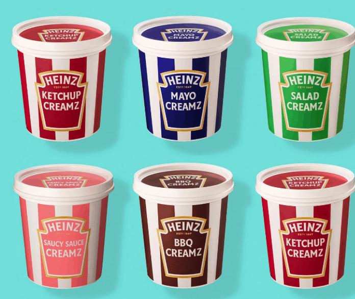 Heinz Creamz: los kits para que puedas comer helado de tus salsas favoritas