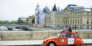 paris 2CV tour