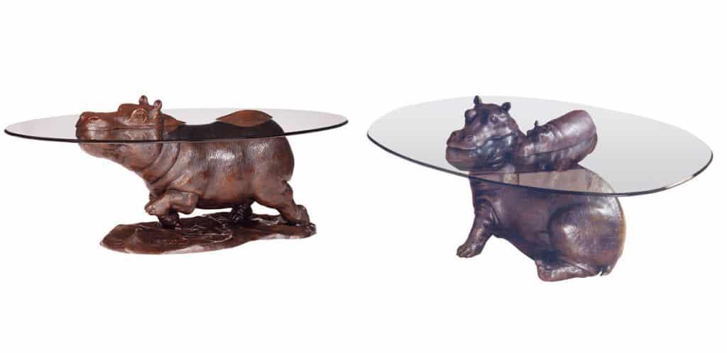 diseño de mesa animales