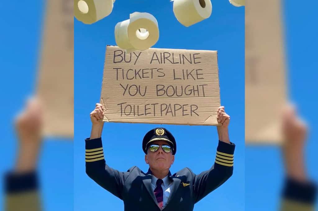piloto de Virgin Atlantic