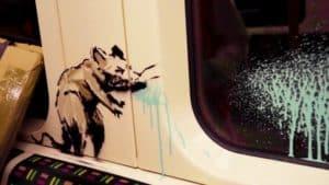 nueva obra de arte de Banksy
