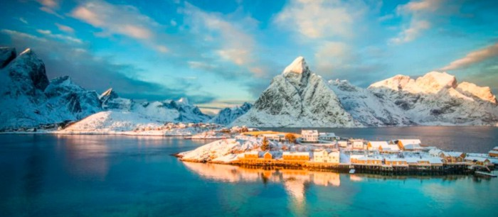 Noruega comienza a recibir turistas de ciertos países europeos.