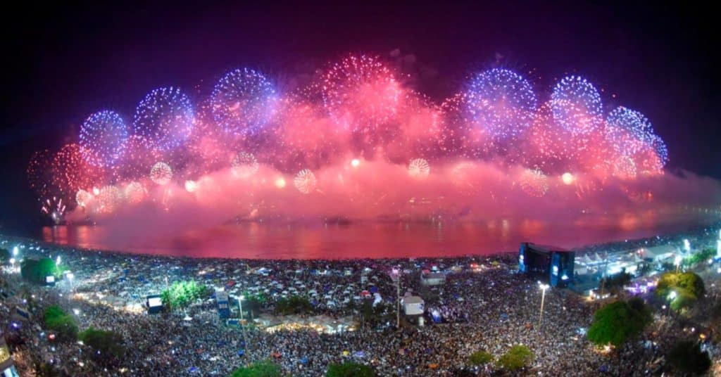 Playas de Río de Janeiro: Reveillon en Copacabana