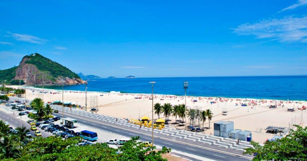 Playas de Río de Janeiro leme 1