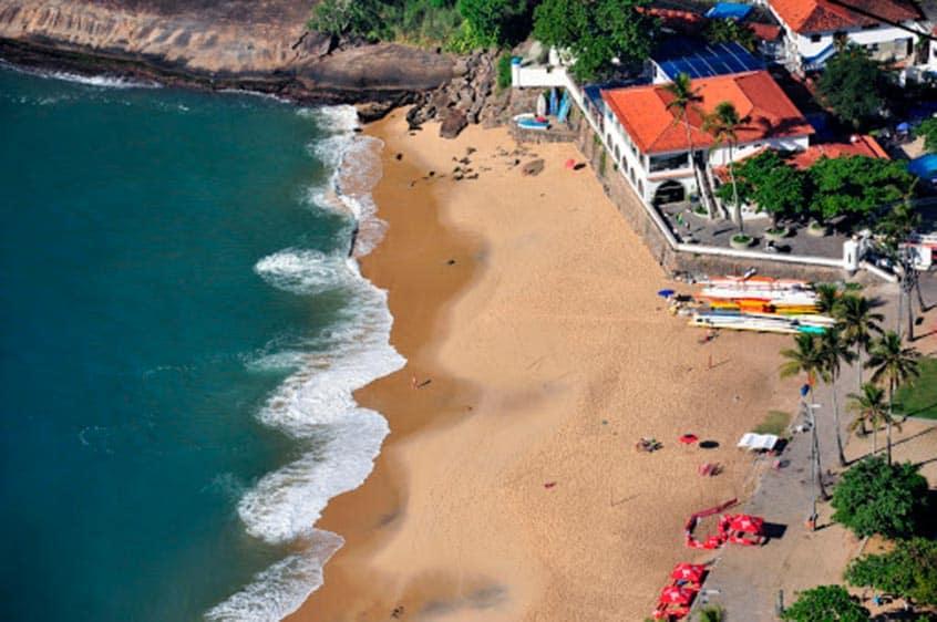 Playas de Río de Janeiro vermela