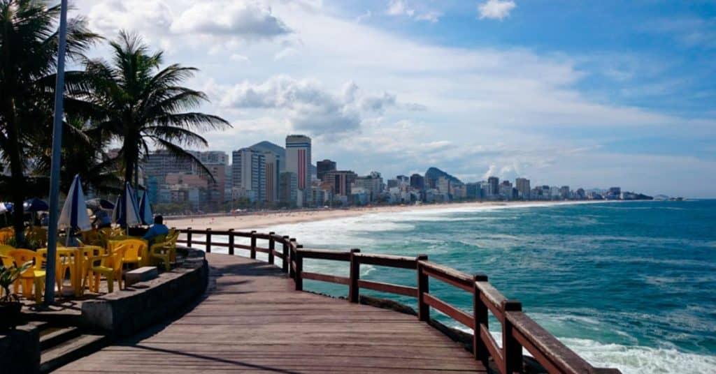 Playas de Río de Janeiro mirante de leblon