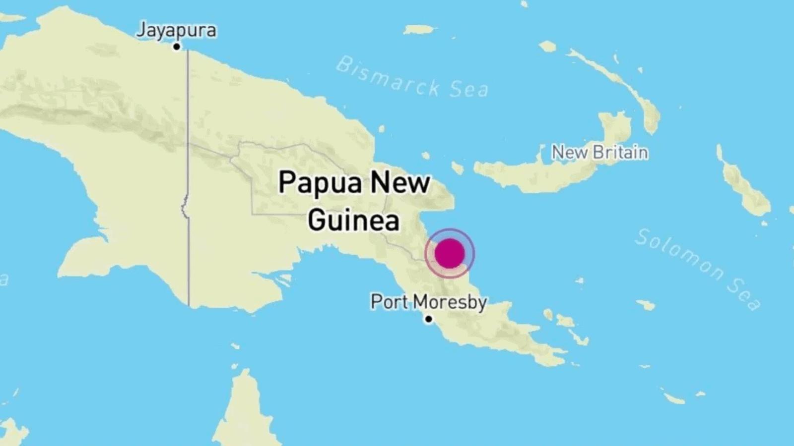 Papua Nueva Guinea sismo de 7.0