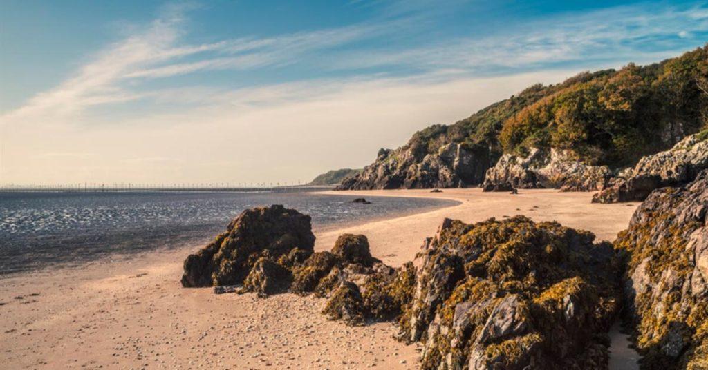 Recorrer Escocia en auto: Sandyhill Bay