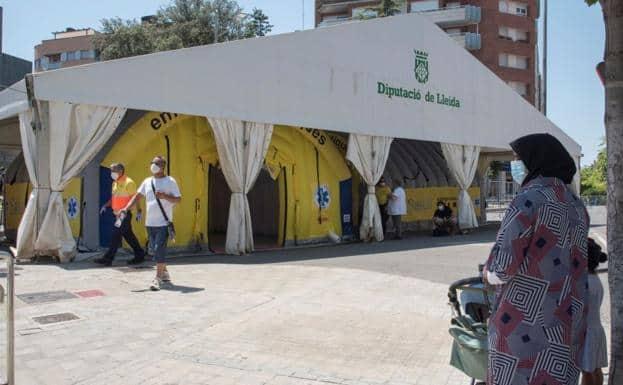 reconfinamiento de más de 150.000 personas en Cataluña