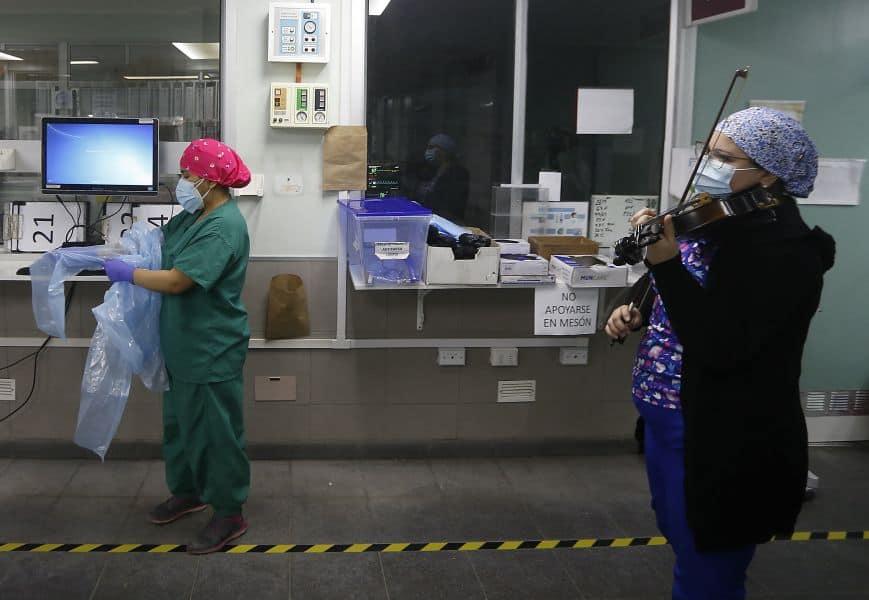 enfermera chilena