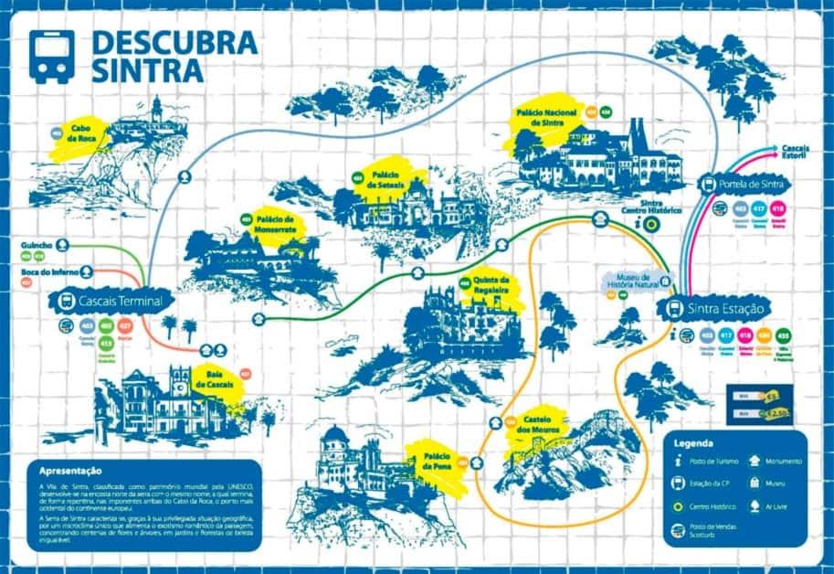 Que hacer en Sintra: recorrido autobús 434