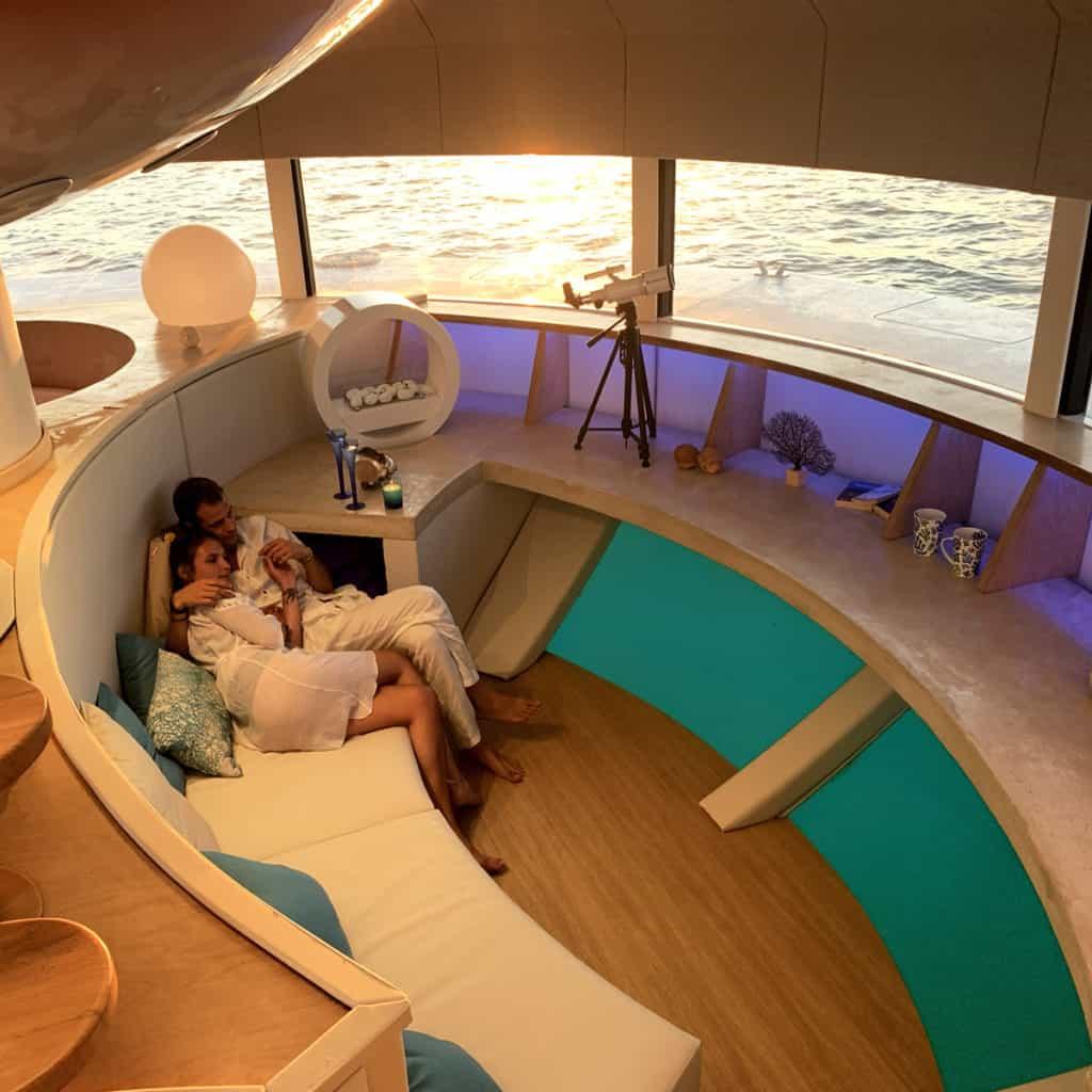 suite de hotel flotante En im%C3%A1genes conoce Anthenea la primera suite de hotel flotante que crearon en Francia 7 1