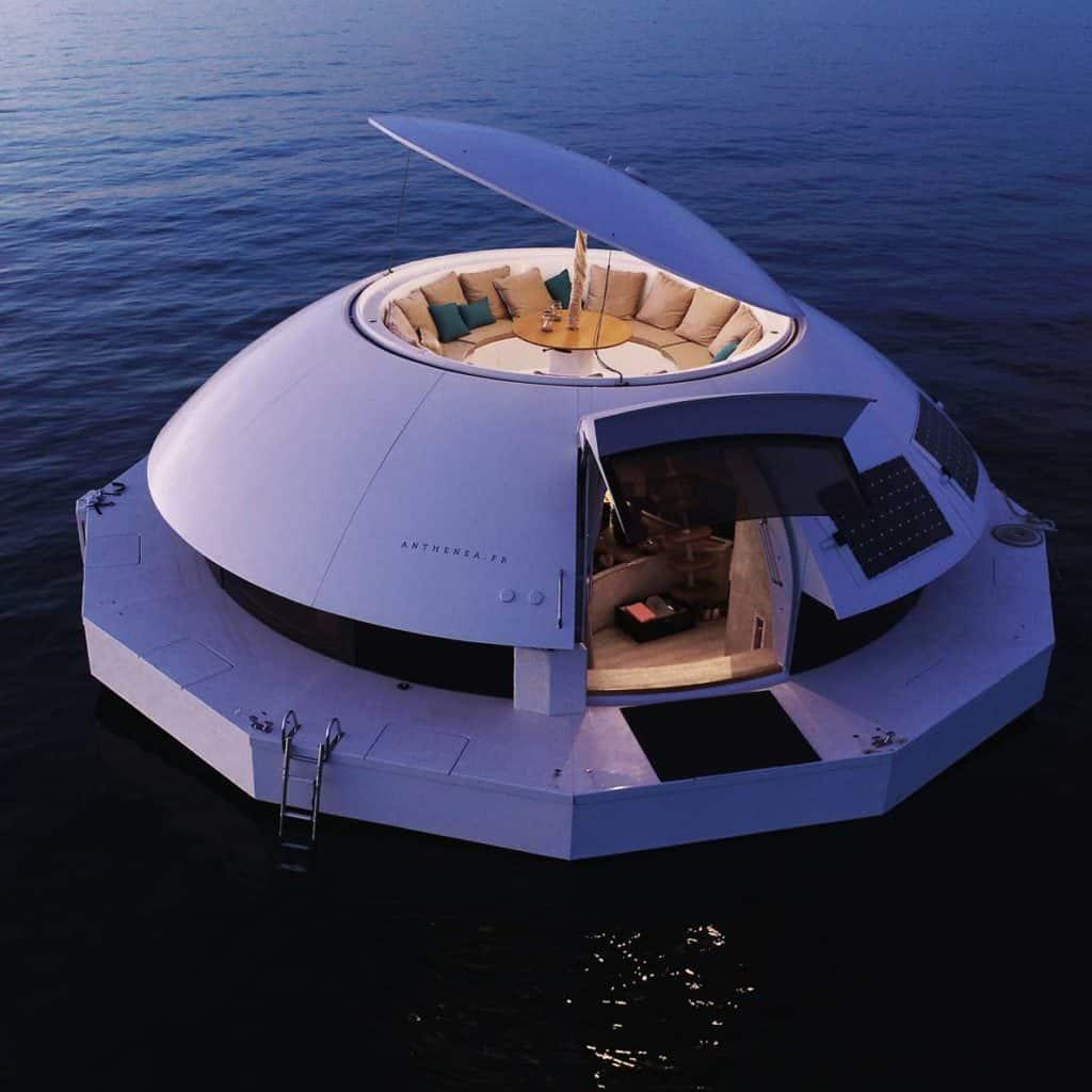 suite de hotel flotante En im%C3%A1genes conoce Anthenea la primera suite de hotel flotante que crearon en Francia 5