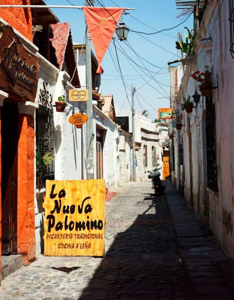 Que comer en Peru La nueva Palomino