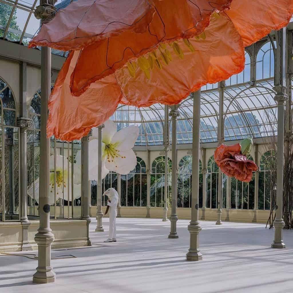 imagen Parque del Retiro en Madrid El Palacio de Cristal del Parque del Retiro en Madrid se llena de flores ante un nuevo proyecto del Museo Reina Sof%C3%ADa 4