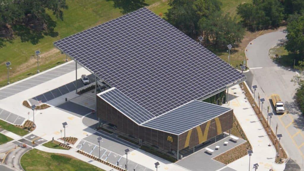 McDonald's usa energía 100% renovable