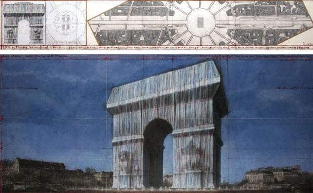 Arco de Triunfo será envuelto