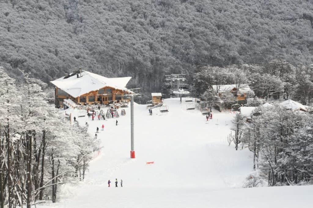 centro de esquí más austral del mundo
