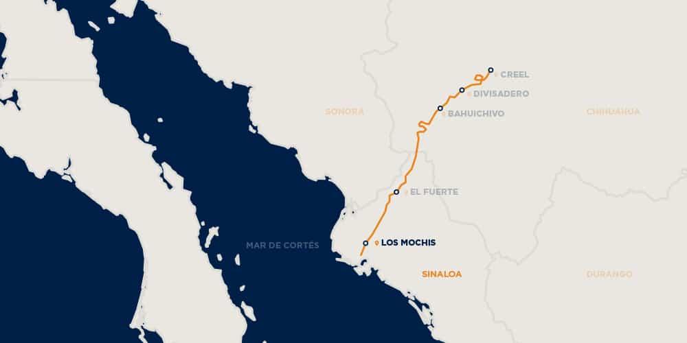 México a bordo del Chepe Express