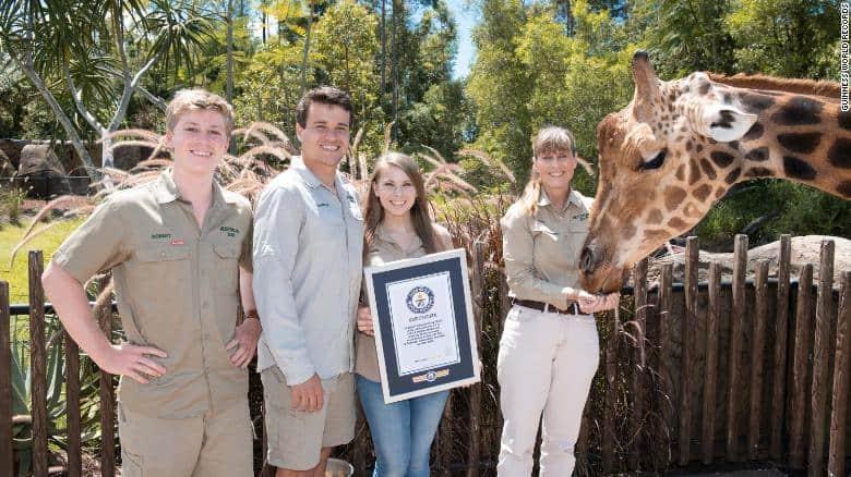 la jirafa más alta del mundo