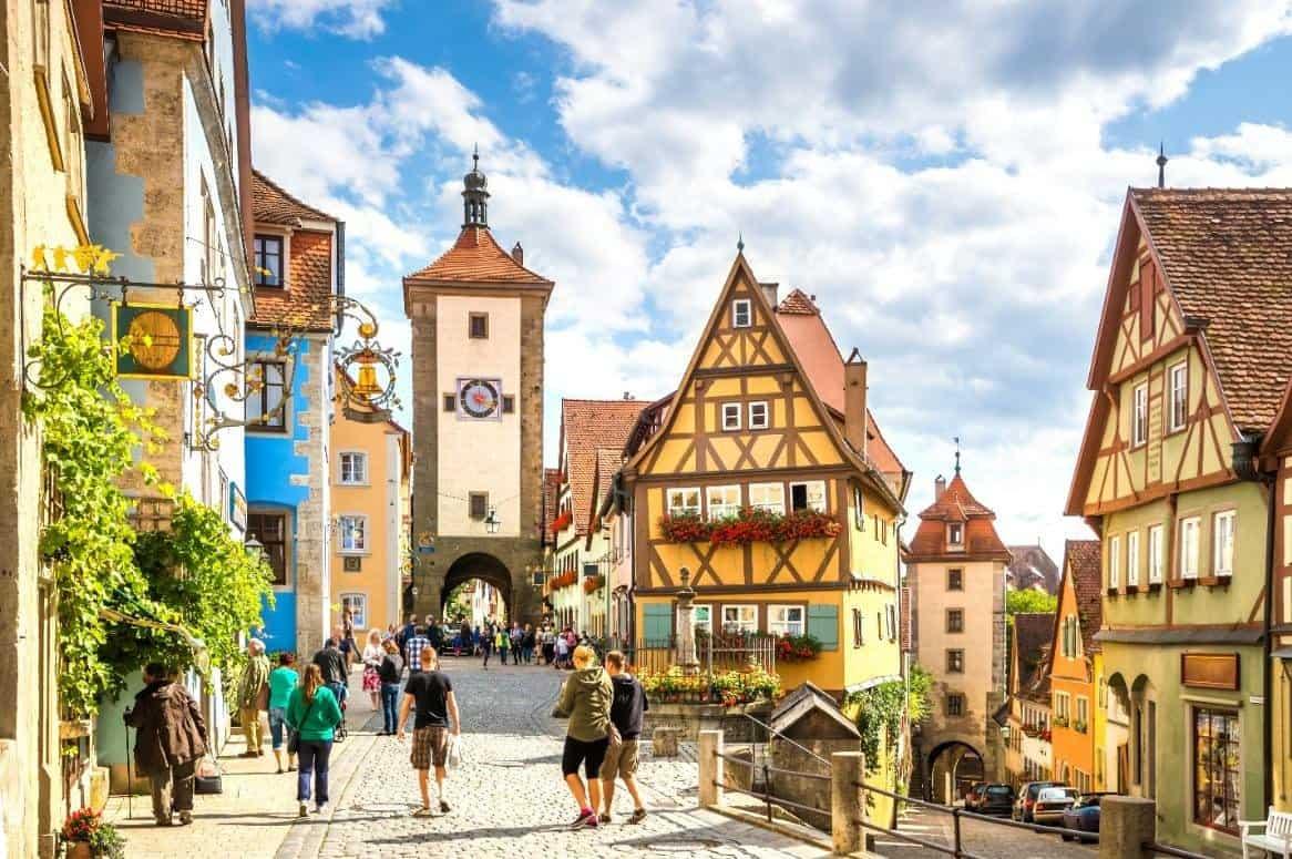 Descubre la Ruta Romántica de Alemania un recorrido por 29 pueblos en unos 460 kilómetros 1