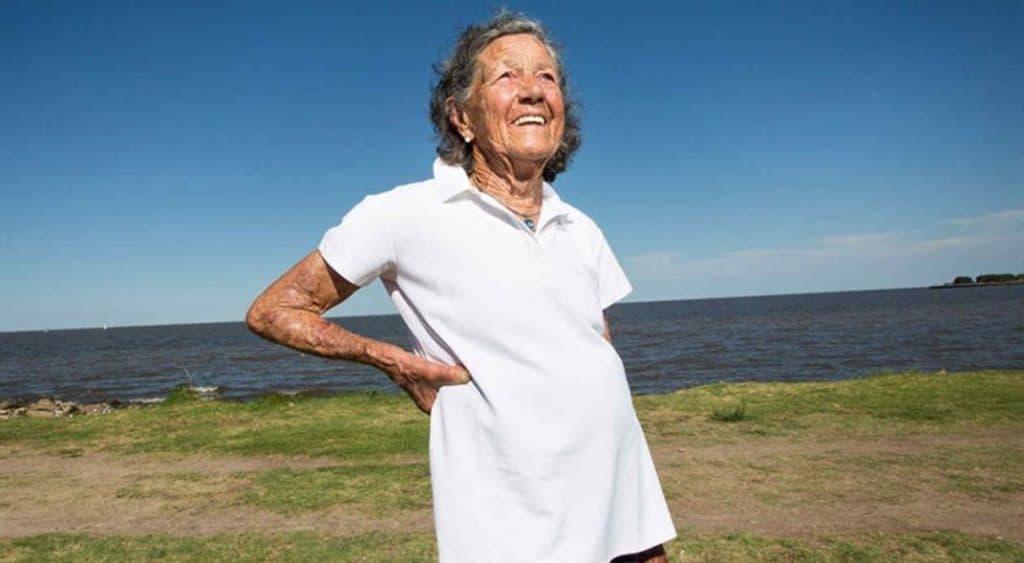 bisabuela runner de 85 años