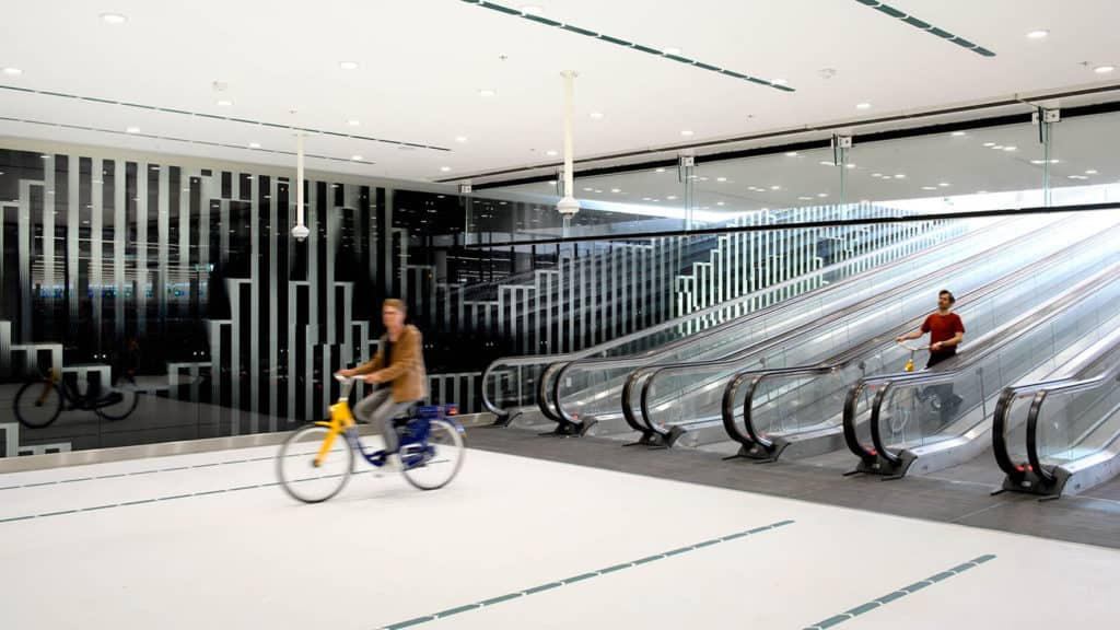 garaje para bicicletas